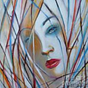 White Nostalgia 010310 Art Print