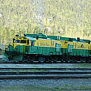White Pass Railroad 2 Art Print