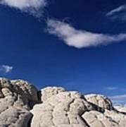 White Pocket In The Vermillion Cliffs Art Print