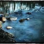 White River Flowing Art Print