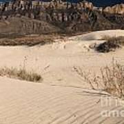 White Sand Below Art Print