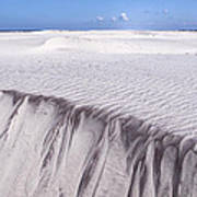 White Sand Art Print by Frits Selier