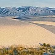 White Sands Morning #1 - New Mexico Art Print