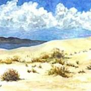 White Sands New Mexico U S A Art Print