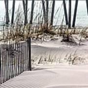 White Sands Of Pensacola Beach Art Print
