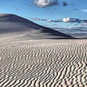 White Sands Patterns Art Print