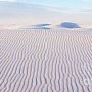 White Sands Serenity Art Print
