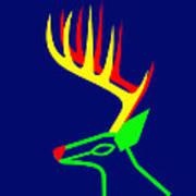 White Taled Deer from British Columbia Art Print