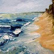 Whitecaps On Lake Michigan 3.0 Art Print