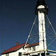 Whitefish Point Light Station Art Print