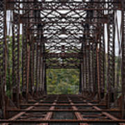 Whitford Railway Truss Bridge Art Print