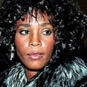 Whitney Houston 1989 Art Print