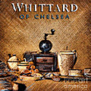 Whittard Of Chelsea Tea Coffee And Drawings Art Print