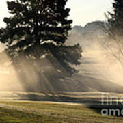 Whittle Springs Golf Course Art Print