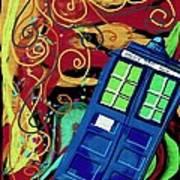 Spiral Through Time Art Print