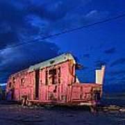 Why Pink Airstream Travel Trailer Art Print