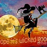 Wicked Good Art Print