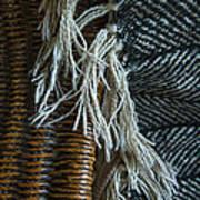 Wicker And Wool Art Print