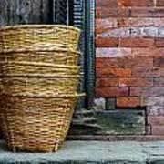 Wicker Baskets Art Print