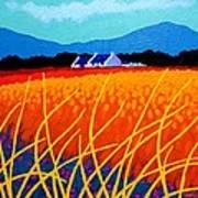 Wicklow Hills Art Print