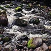 A River In The Wicklow Mountains, Ireland. Vision # 2 Art Print