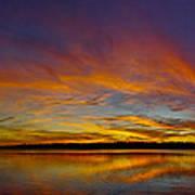 Widescreen Sunset Art Print