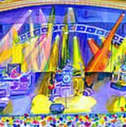 Widespread Panic Peabody Opera House Art Print
