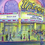 Widespread Panic Uptown Theatre  Art Print