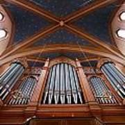 Wiesbaden Marktkirche Organ Art Print