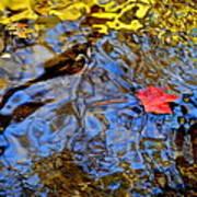 Wiggling Water Art Print
