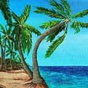 Wild Beach Art Print