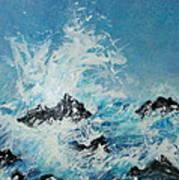 Wild Blue Too Art Print
