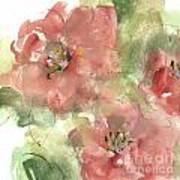 Wild Camellia 1 Art Print