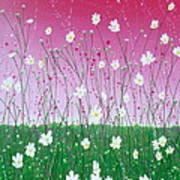 Wild Daisy Field Art Print