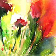 Wild Flowers 09 Art Print