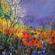 Wild Flowers 4110 Art Print