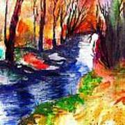 Wild Forest Art Print