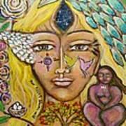 Wild Goddess Art Print