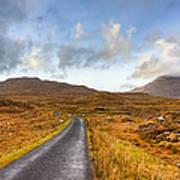 Wild Landscape Of Connemara Ireland Art Print