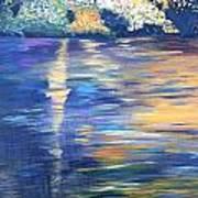 Wild Pond Reflections Art Print
