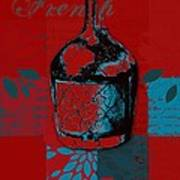 Wild Still Life - 0102b - Red Art Print