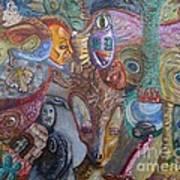 I See Faces Art Print