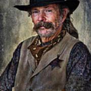 Wild West Cowboy Art Print