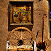 Wild West T-shirts - Old Town New Mexico Art Print by David Patterson