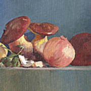 Wilde Mushrooms Art Print