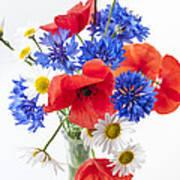 Wildflower Bouquet Art Print