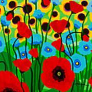Wildflower Fiesta Art Print