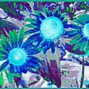 Wildflower Art Print by Tom Druin