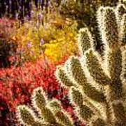 Wildflowers Ignite  Art Print