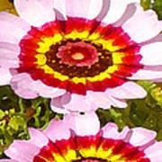 Wildflowers Tall Art Print